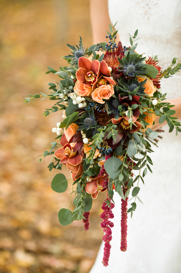 Fall Wedding Bouquet - Rachel Peters Photography