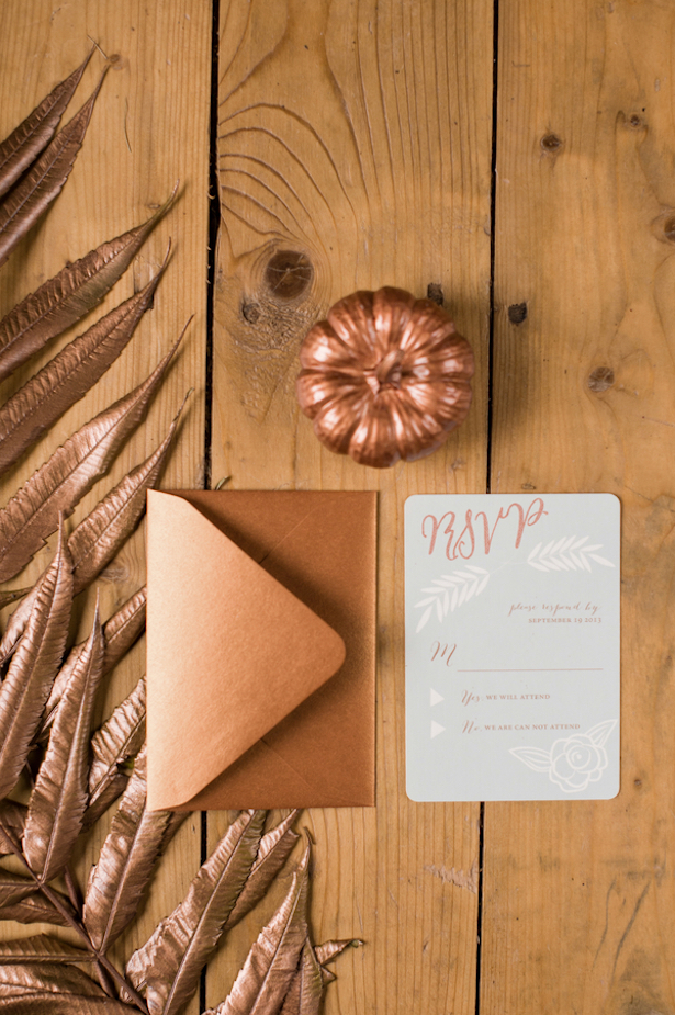 Pumpkins and Rustic Glam Wedding Inspiration