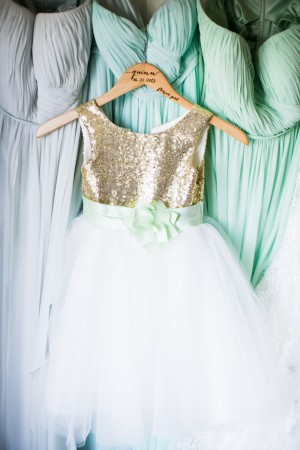 Mint and gold wedding belle the magazine for Mint and gold wedding dress