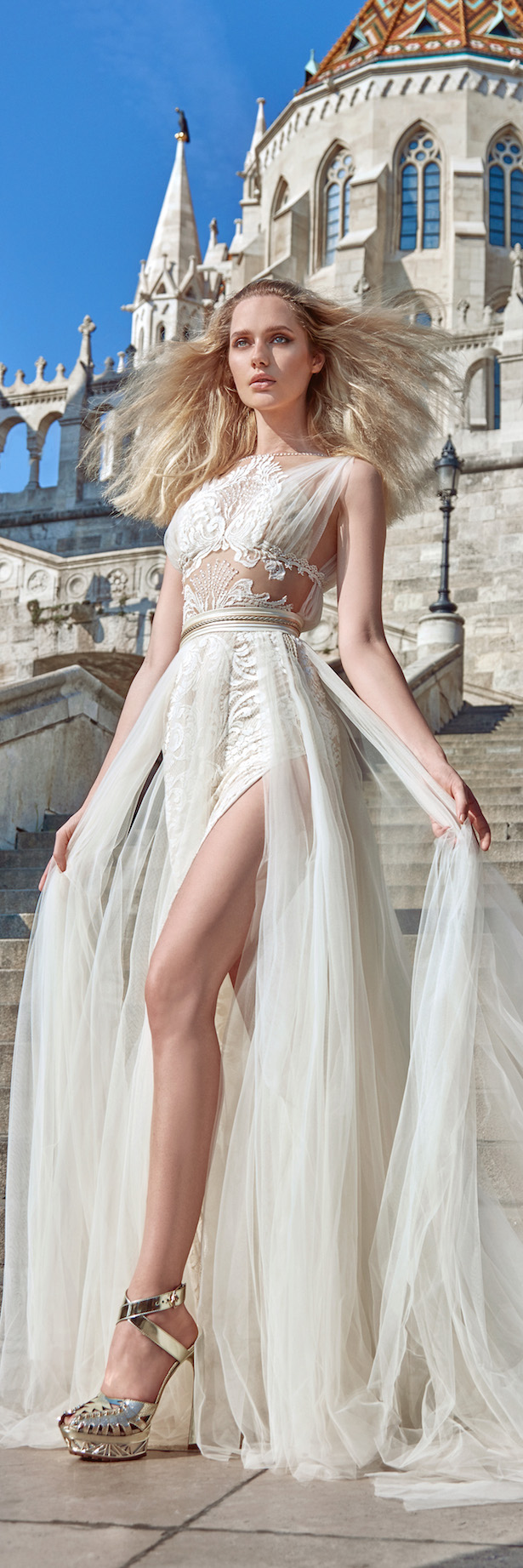 Galia Lahav Fall 2016 Ivory Tower Collection