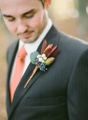 Groom's Look: Fall Wedding Inspiration - Rachel Peters Photography