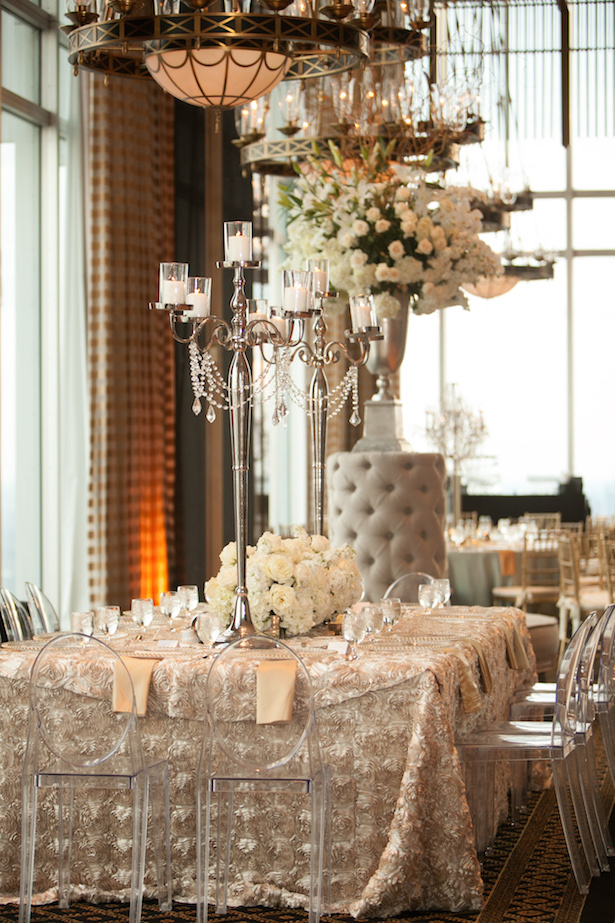 Long Wedding Tables - Occasio Productions #BTMVendor
