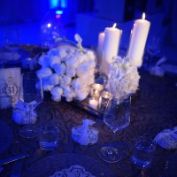 Glamorous Wedding Centerpieces - Occasio Productions #BTMVendor and Monica Lozano Photography