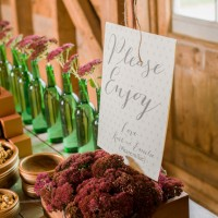 sign: Fall Wedding Inspiration - Rachel Peters Photography