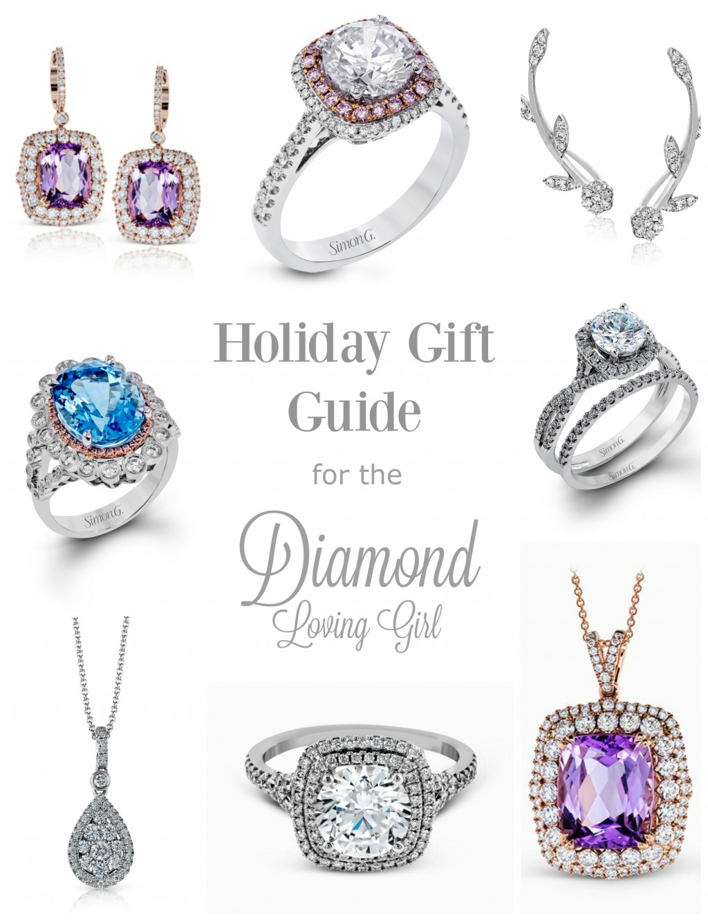 Holiday Gift Guide for the Diamond Lover Girl
