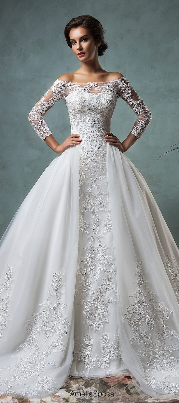 Winter wedding dresses belle the magazine winter wedding dresses junglespirit Gallery