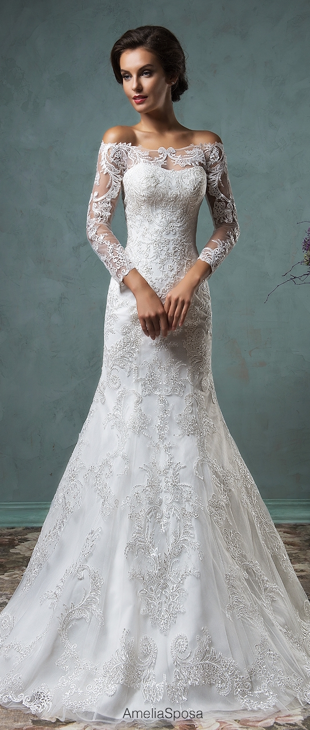 F amelia wedding dresses
