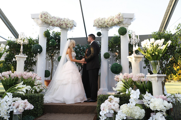 Blush and Champagne Luxury #Wedding - Keith Cephus Photography