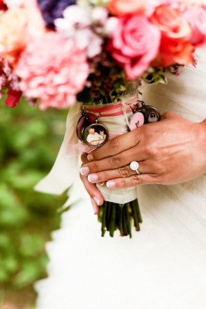Wedding Bouquet Charms - - Kate Wenzel Photography