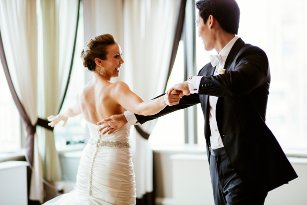 bride groom dance - CliffCphotography