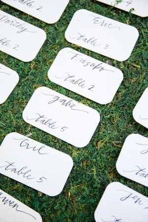 Escort Cards - Captured by Solie Designs
