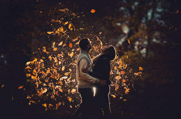 Stunning Fall Engagement Session