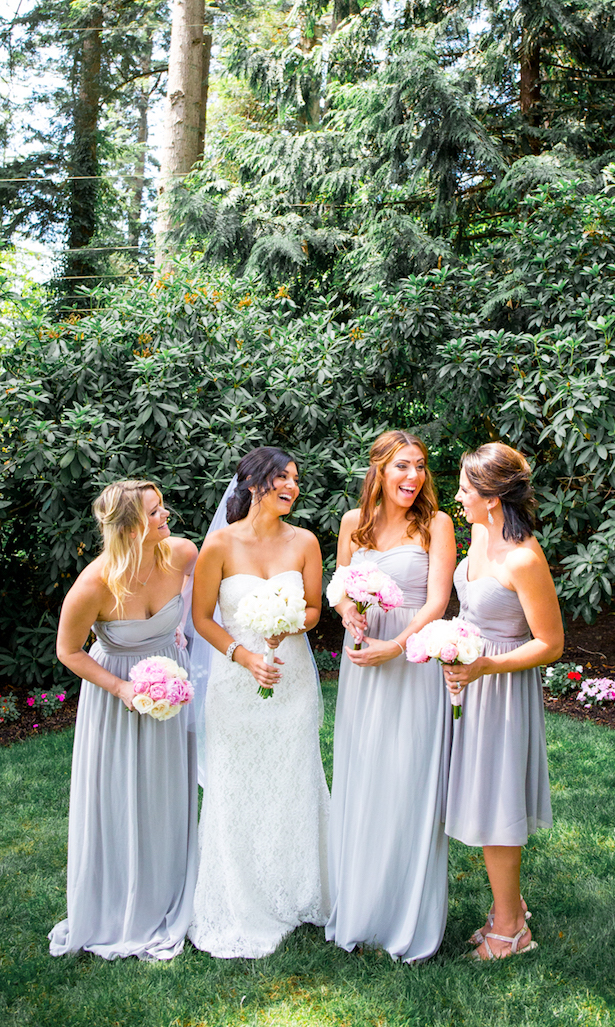 Grey Bridesmaid Dresses - Captured by Solie Designs