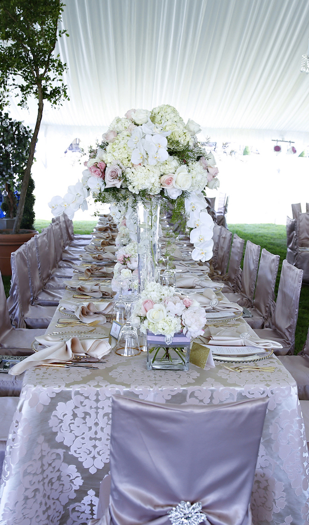 Long #Wedding Table- Keith Cephus Photography