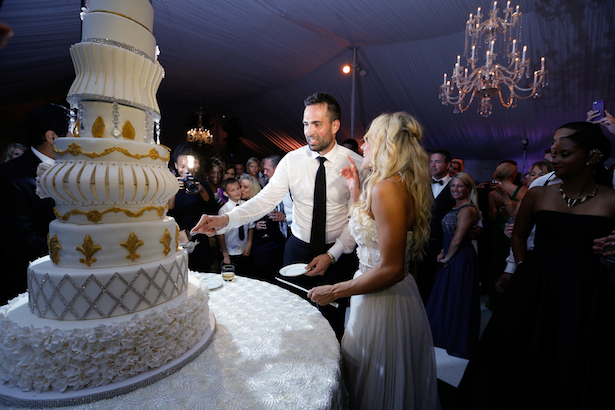 luxury wedding cake keith cephus photography