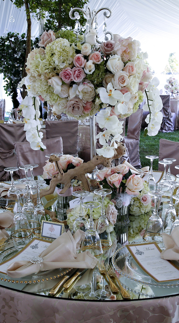 Luxury #Wedding Centerpiece - Keith Cephus Photography