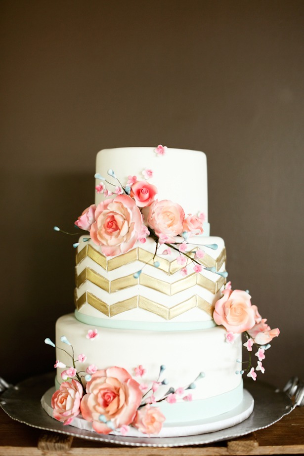 Colorful Wedding with Touches of Gold