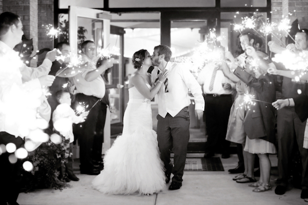 #wedding Exit - Kate Wenzel Photography