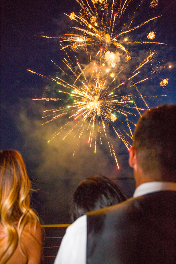 Wedding Fireworks Sophisticated Bride - Captured by Solie Designs