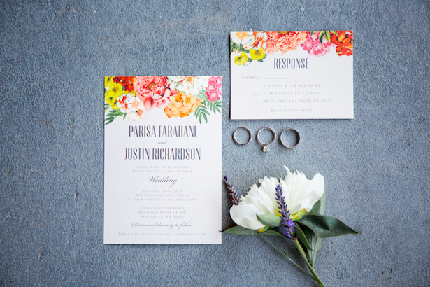 Wedding Invitations - Captured by Solie Designs