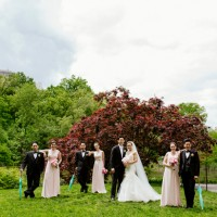 wedding party - CliffCphotography