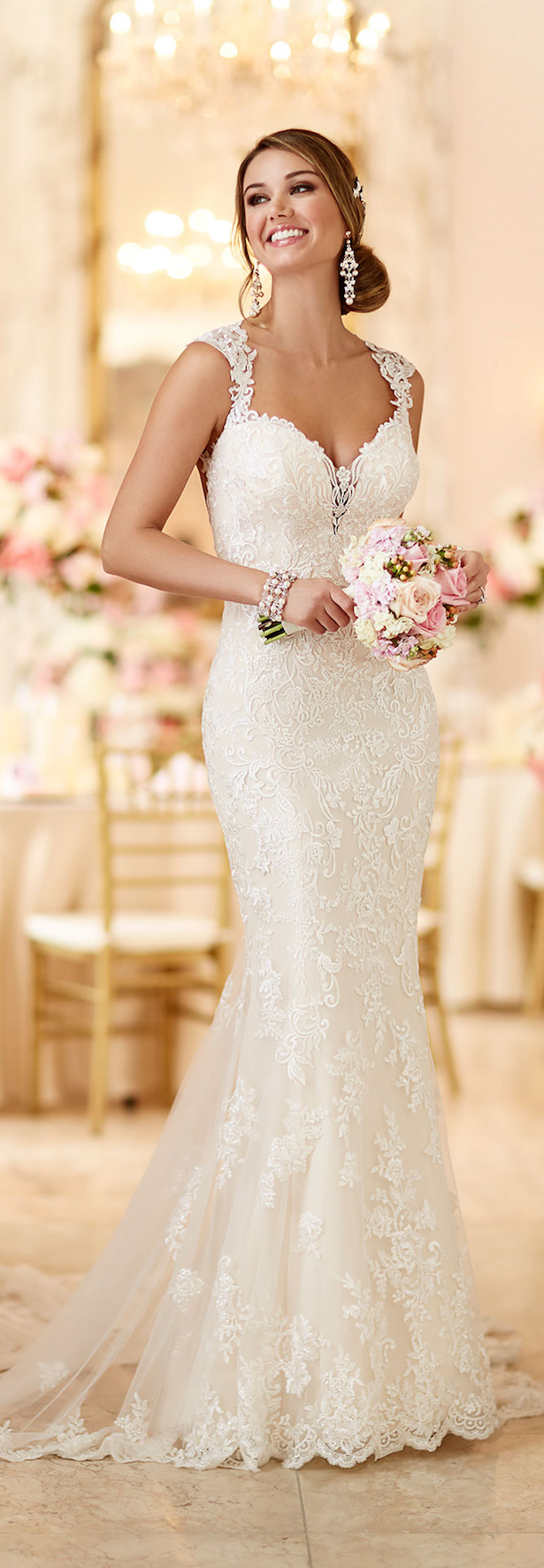 Stella york spring 2016 bridal collection belle the magazine for Wedding dress shops york