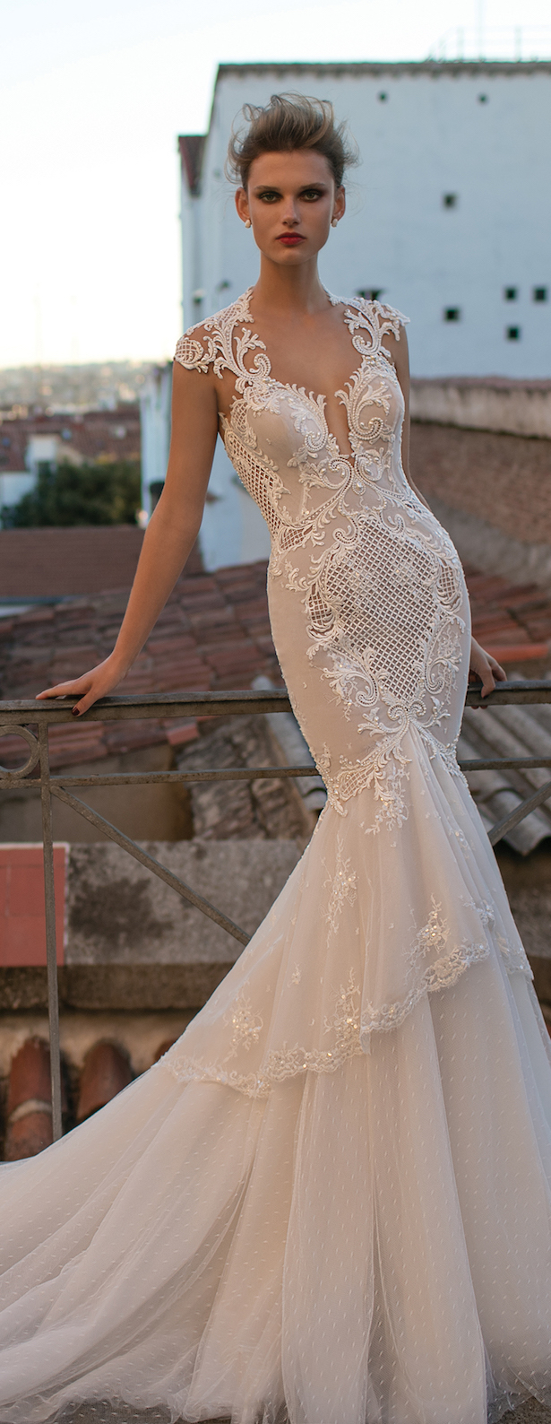 Berta bridal spring 2016 collection part 2 belle the for Berta wedding dress collection