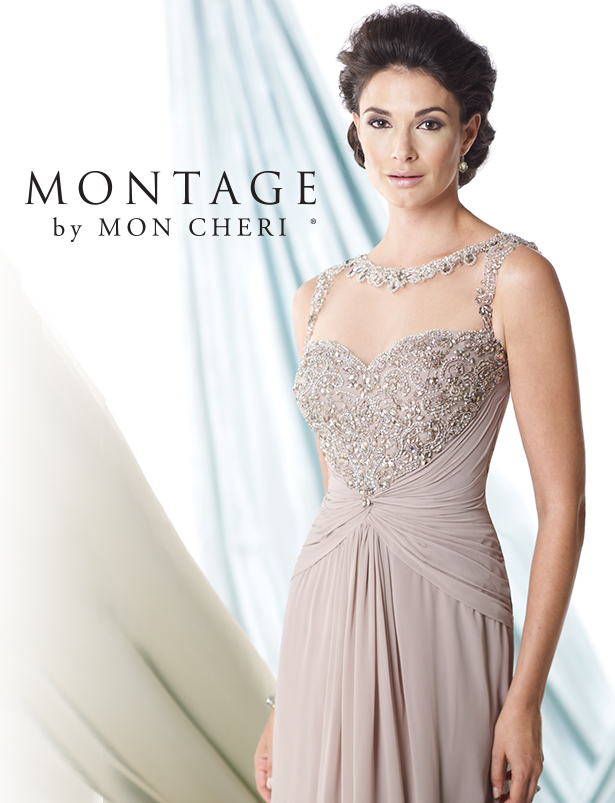 Stylish Mother of the Bride Dresses by Mon Cheri Bridals - Belle ...