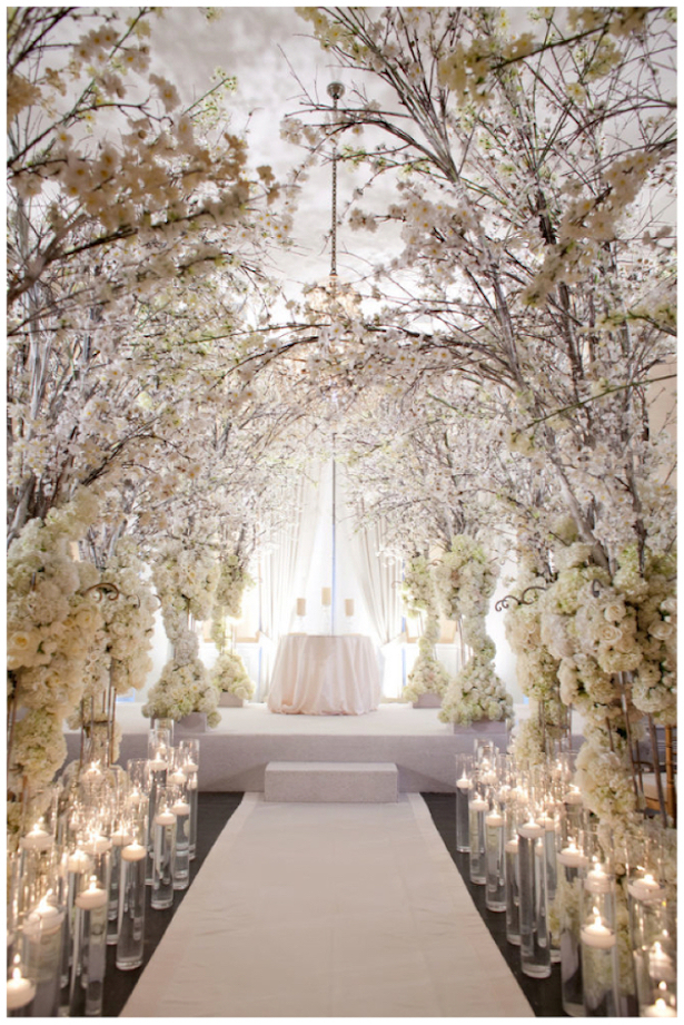 20 wedding ceremony ideas that will take your breath away for Aisle decoration for wedding
