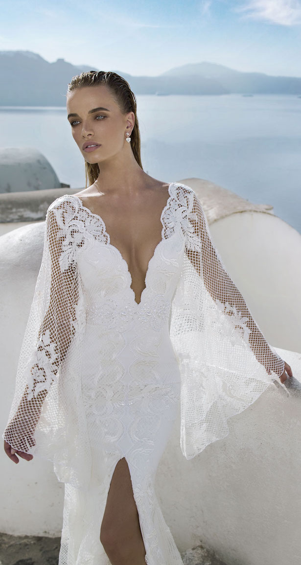 wedding magazine santorini fashion