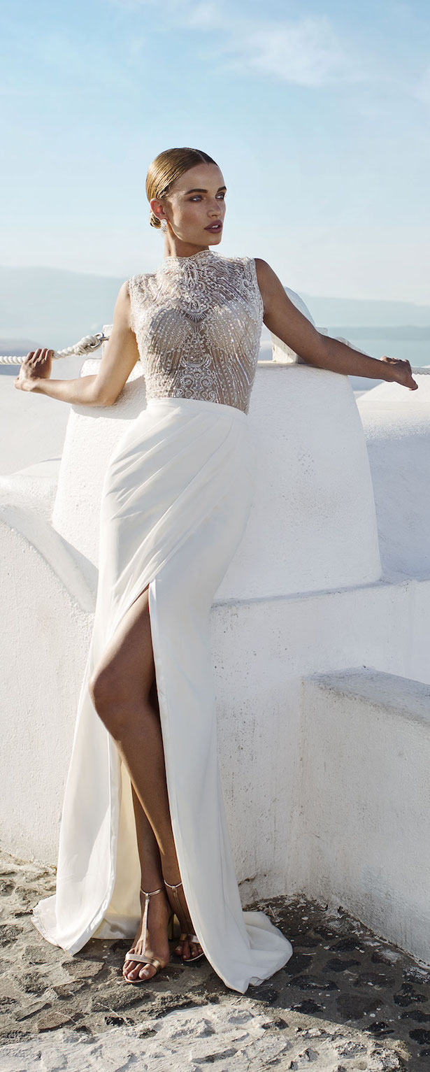 Wedding Dress By Julie Vino Santorini Collection 2016