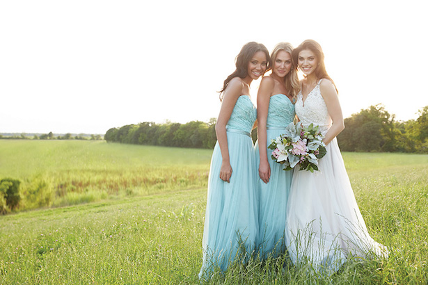 Allure Bridesmaids Lace Dresses