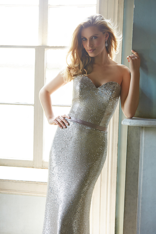 Allure Bridesmaids Sequins Dresses