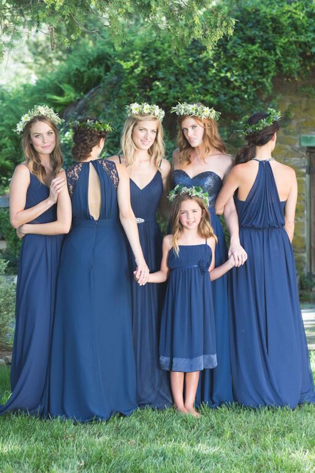 Bridesmaid Dress Trends with Bari Jay: Mix and Match
