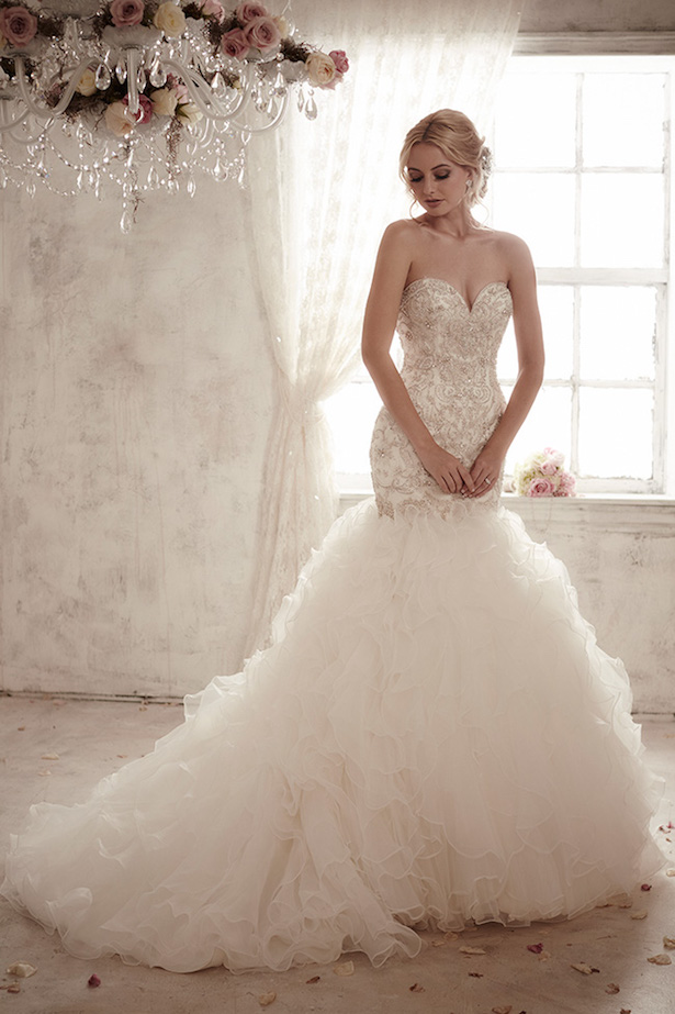 Christina Wu Mermaid Style Wedding Dress