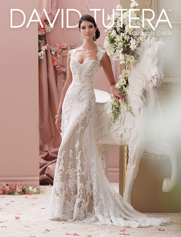Gorgeous Wedding Dresses by David Tutera for Mon Cheri
