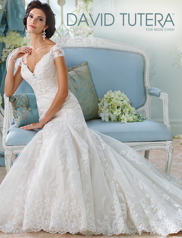 David Tutera by Mon Cheri Wedding Dress