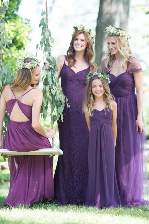 Trendy Bridesmaid Dresses By Bari Jay - Belle The Magazine