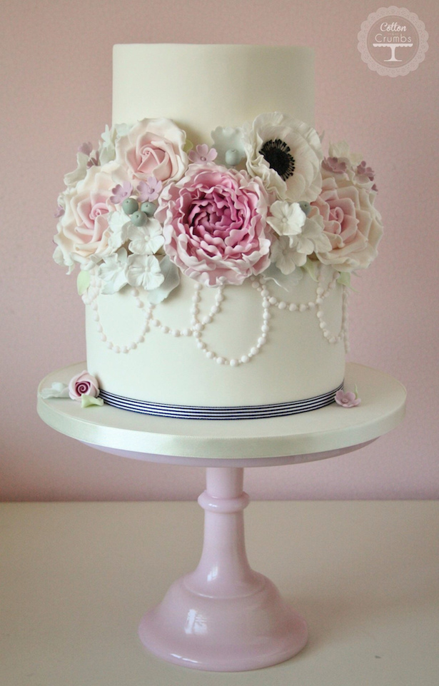 Wedding Cake Ideas Sugar Flowers Belle The Magazine
