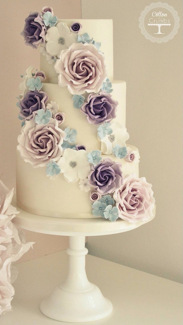 Wedding Cake Ideas: Sugar Flowers - Belle The Magazine