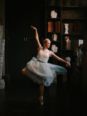 Ballerina Wedding Inspiration - Melanie Gabrielle Photography