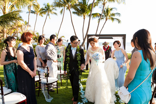 Beach Wedding ceremony - Mike Adrian Photography