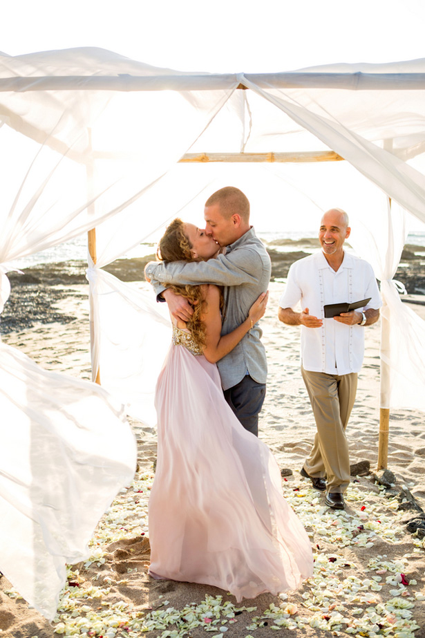 Beach wedding ceremony - Madison Baltodano Photography