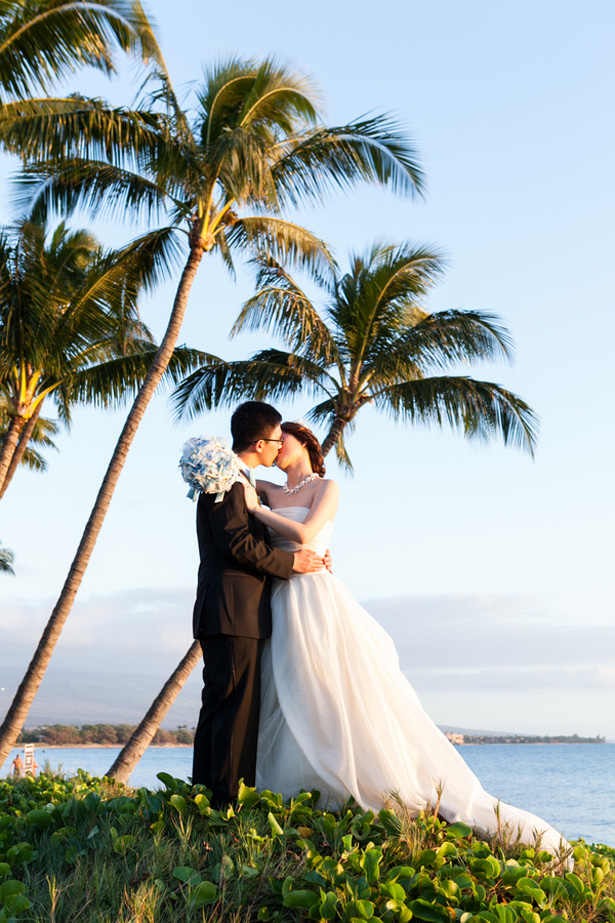 Beach wedding photo - Mike Adrian Photography