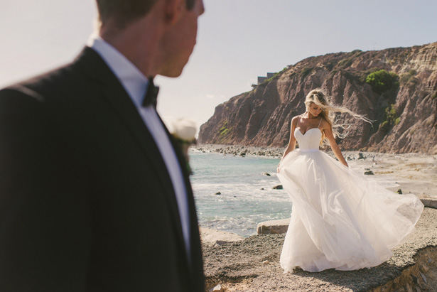 Beautiful beach wedding photo - Vitaly M Photography