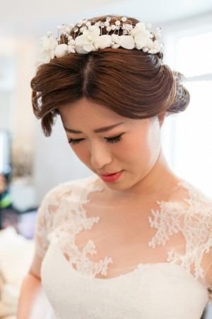 Bridal headpiece - Mike Adrian Photography