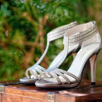 Bridal heels - William Innes Photography