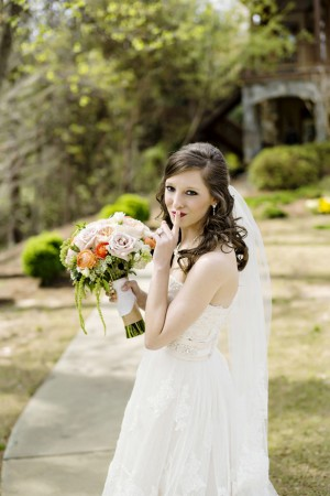Bridal portrait -Andie Freeman Photography