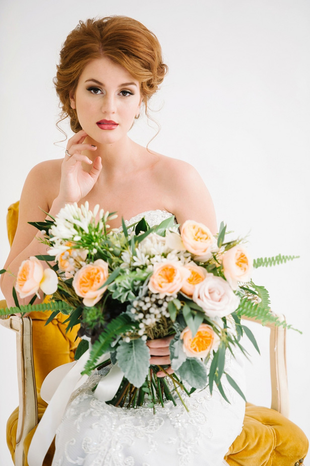 Soft and Organic Bridal Session