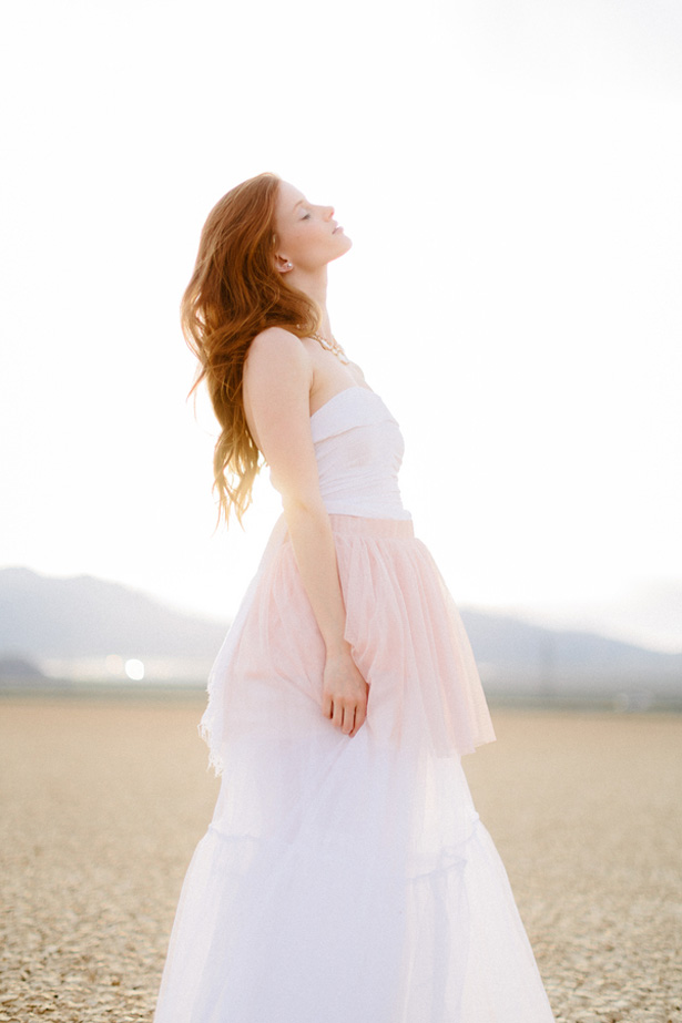 Ethereal Bridal Session in the Desert